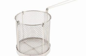 Genware S/St Spagetti Basket 15cm dia x 16cm