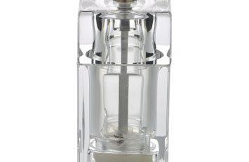 Genware Square Salt/Pepper Grinder Acrylic 10cm