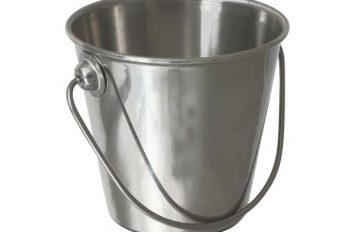 Stainless Steel Premium Serving Bucket 7cm Ø