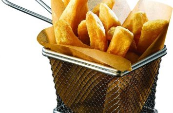Serving Fry Basket 10 x 8 x 7.5cm