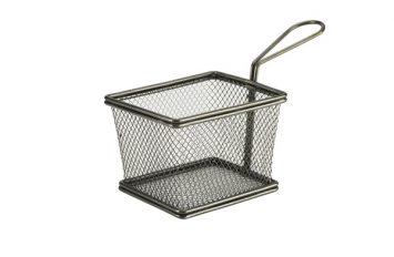 Black Serving Fry Basket 12.5 x 10 x 8.5cm