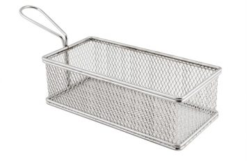 Large Rect. Serving Basket 21.5x10.5x6cm