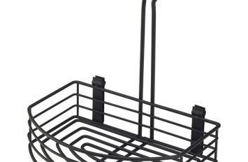 """Black Wire Table Caddy 8.5 x 6 x 9 (H)"""""""