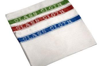 Cotton Glass Cloth 50 x 76cm (10pcs assorted colours)