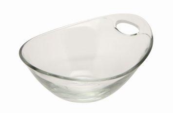 Handled Glass Bowl 14cm Ø
