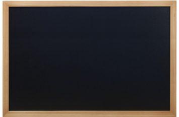 Wall Chalk Board 60x80cm Teak