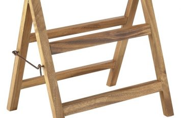 Acacia Wood Display Stand 38x30x40cm