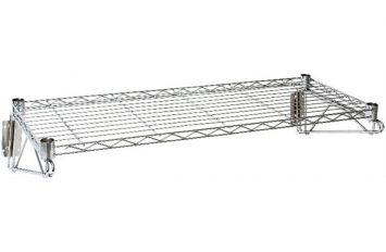"Wall Mounted Wire Shelf 36""(w) x 14""(d)"