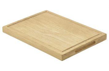 Oak Wood Serving Board 28x20x2cm