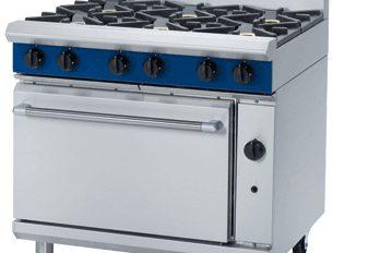 Blueseal G506D 6 Ring Heavy duty Range Nat Gas