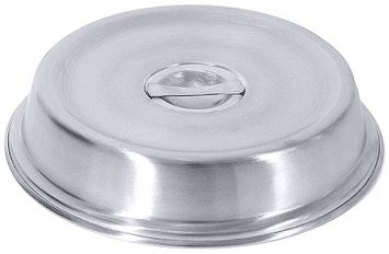 """Stainless Steel Plate Cover 9"""" (23cm)"""