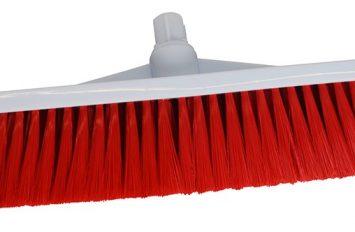 "Brush Head - 12"" - Stiff - Red"