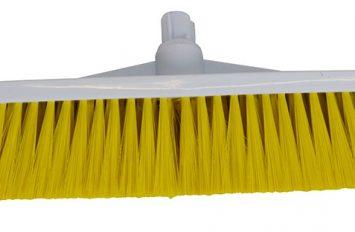 """Brush Head - 12"""" - Stiff - Yellow"""