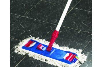 King Speedy econ microfibre flat mop (blue/white)