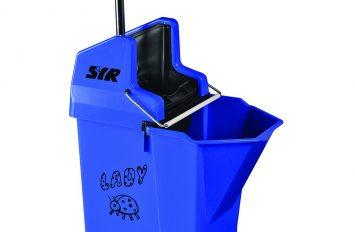 Ladybug Mop Bucket & Wringer - Blue
