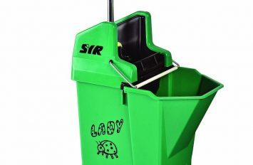 Ladybug Mop Bucket & Wringer - Green