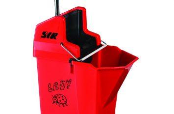 Ladybug Mop Bucket & Wringer - Red