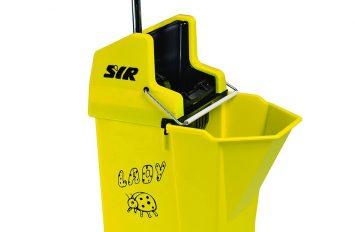 Ladybug Mop Bucket & Wringer - Yellow