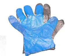 CLEAR (PE) POLYTHYLENE GLOVES- 10,000 per Case