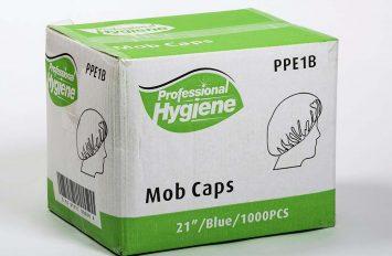 """MOB CAP 21"""" BLUE (100 PCS X 10)"""