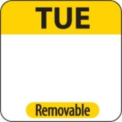 """Tuesday Label - 1"""" Square (1000)"""