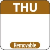 "Thursday Label - 1"" Square (1000)"
