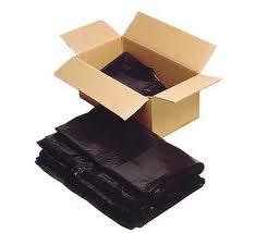 "26"" x 44"" Standard Duty Black Sack (200)"