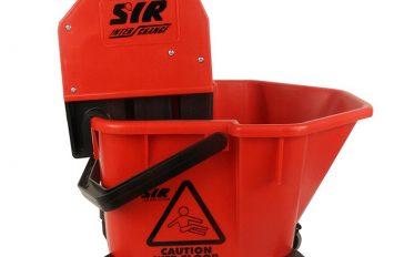 SYR Mop Bucket & Wringer - Red