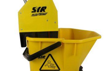SYR Mop Bucket & Wringer - Yellow