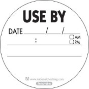 Use By Label - Removable - 50mm (1000)