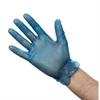 Vinyl Powder Free Blue Gloves (10 x 100) - Large