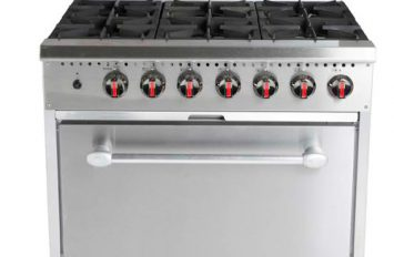 Banks B61L Gas Range 6 Burner, 1 Oven LPG
