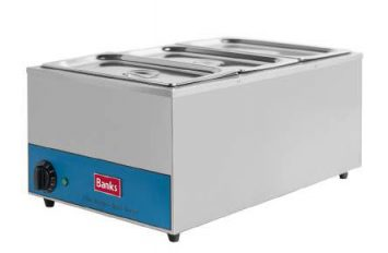 Banks BMW3 Bain Marie (wet) with containers