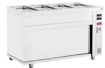 Banks Bain Marie Hot Cupboard 4GN 4.5kw
