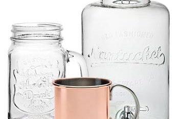 Glass Display Jars