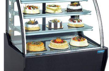 Unifrost CDV90 cake dispay Curved glass