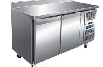 Unifrost CR1365N 2 Dr Counter Refrigerator upturn & castors