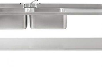 Atlas DBLD1800 Double Bowl Sink Left Hand Drain 1800mm