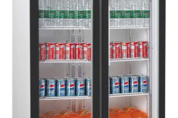 Unifrost GDR800 Double Display Fridge 10 shelves