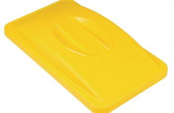 Rubbermaid Slim Jim Handle Top Yellow
