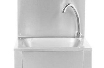 Atlas WHBK Knee Operated Sink W440 x D330 x H185mm
