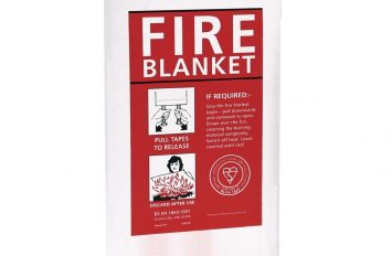 Quick Release Fire Blanket 1 x 1m