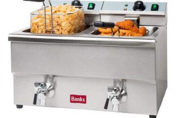 Banks EFD8 Fryer 2 x 8lt with Taps