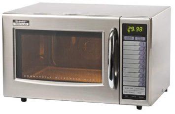 Sharp 21AT, 1000 watt Microwave
