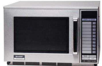 Sharp 22-AT Commercial 1500 Watt Microwave Oven