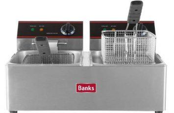 Banks EFD6 Fryer 2 x 6lt Twin Tank