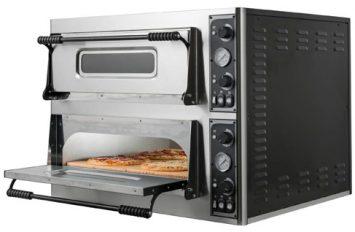 Mazzoni TP6666 Twin Deck Pizza Oven