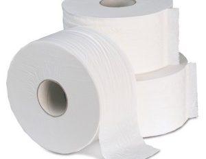 Mini Jumbo Toilet Roll (12 Rolls)