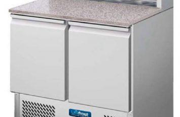Unifrost PCF900 compact pizza prep counter