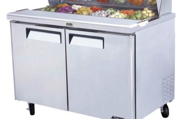 Turbo Air CMST-48 Two Door Saladette 340ltr